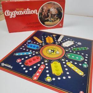 Aggravation board game, vintage